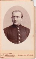 CDV Deutscher Soldat - Fotograf Wenning, Burgsteinfurt & Rheine - 10*6cm - Ca. 1910 (25725) - War, Military