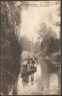 MARLIENS (21) Parc Du Château Et Source De La Biètre, Circulée, Timbrée Tampons Genlis 1912 - Autres Communes