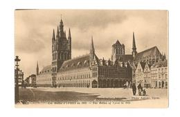 Les Halles D'Ypres En 1912 - Belgique