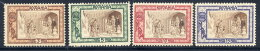 ROMANIA 1907 Winter Relief Set Of 4, MH / *.  Michel 208-11 - 1881-1918: Charles I