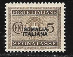 Somalia, Scott # J42 Mint Hinged Italy Postage Due, Overprinted,1934 - Somalie