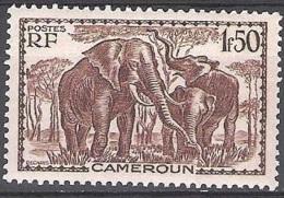Cameroun 1939 Michel 146 Neuf ** Cote (2001) 1.60 Euro Eléphants - Cameroun (1915-1959)