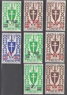 Cameroun 1945 Michel 260 - 267 Neuf ** Cote (2001) 11.00 Euro France Libre - Nuevos