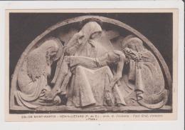 Carte Postale - Eglise St Saint Martin - HENIN LIETARD - Arch M Boutterin - Paul Graf Statuaire PIETA - Sonstige Gemeinden