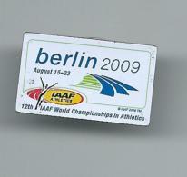 Sport. Athletics IAAF Berlin 2009.Germany - Athletics