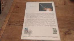 68/DOCUMENT PHILATELIQUE PREMIER JOUR TELECOM 79 - Documents De La Poste