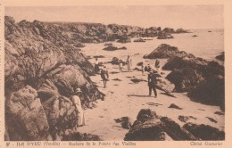 CPA Dép 85 Ile D'Yeu Rochers De La Pointe Des Vieilles  Non  Circulée - Ile D'Yeu