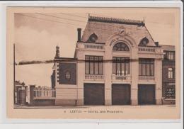 Carte Postale - LIEVIN - Hotel Des Pompiers - Lievin