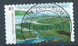ALLEMAGNE ALEMANIA GERMANY DEUTSCHLAND BUND  2015 Wild Germany - Ostsee: Baltic Sea, Bodden Landscape Die Cut 11 MI 3131 - BRD