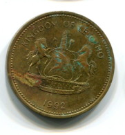1992 Lesotho 2 Lisente Coin - Lesotho