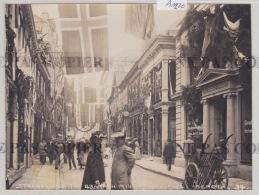 Bergen - Strandgaden Für Branden 1916, Photo O. Svanöe, Magasin Gundersen & Moldestad (format 11 / 14,5 Cm) (A 1220) - Norvège