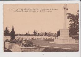 CPA - ECOIVRES - Mont St Saint Eloi - ( Environs D'Arras ) Military British Cemetery - 4000 Tombes - Sonstige Gemeinden