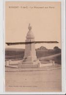 CPA - RINXENT - Le Monument Aux Morts - Sonstige Gemeinden