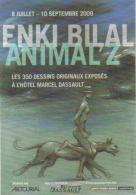 """Carte Postale """"Cart'Com"""" (2009) - Enki Bilal - Animal'Z - Comicfiguren"""