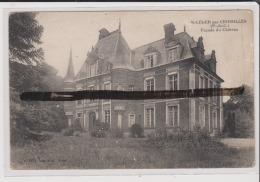 CPA - ST SAINT LEGER PAR CROISILLES - Facade Du Chateau - Sonstige Gemeinden