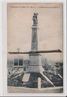 CPA - VENDIN LE VIEIL - Le Monument Aux Morts - Sonstige Gemeinden
