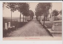 CPA - VIMY - Cimetière Communal - Autres Communes
