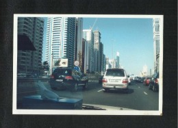 United Arab Emirates UAE Original Picture Photo  Dubai  Photography View Card  Size 15 X 10cm - United Arab Emirates