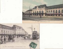 Dep 69 - Lyon  - La Gare Des Brotteaux - 5 Cartes  -  Achat Immédiat - Lyon