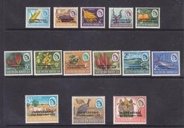 Rhodesia 1966 Independence Overprint Set 1/2d - £1, MNH ** - Rhodésie Du Sud (...-1964)