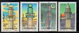 1991 Somalia Lighthouse Complete   Set Of 4 MNH - Somalie (1960-...)