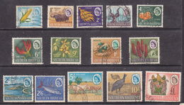 Southern Rhodesia 1964 1/2d - £1, Used - Southern Rhodesia (...-1964)