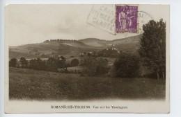 Romaneche Thorins Vue Sur Les Montagnes (rare Vue ) - France