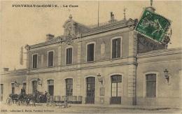 FONTENAY-le-COMTE - La Gare - 01534 - Coll. Robin - Fontenay Le Comte