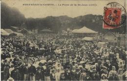 FONTENAY-le-COMTE - La Foire De La St Jean (1907 ) - X 1540 - Coll. Robin - Fontenay Le Comte