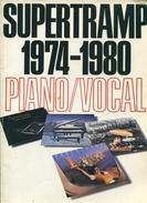 Supertramp 1974-1980 Piano Vocal  Wise Publications Partitions En Anglais - Musique