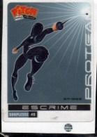 Carte Sports Pitch Pasquier Escrime - Fencing