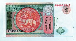 Mongolia - Banconota Da 1 Tugrik - Nuova -  (FDC1582) - Mongolia