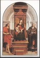 1984 Togolaise Christianity Christmas Raphael Painting Art Souvenir Sheet MNH - Togo (1960-...)