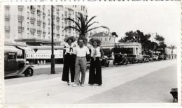 CARTE PHOTO CANNES MR ET MME SHETTE,JOLI PLAN EN 1932 REF 49728 - Cannes
