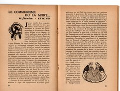 Libro  Fascicule N° 1 Février 1944 EDITORIAUX Radio Par Philippe HENRIOT Secrétaire D'état Propagande ( Pétain ) - Politique