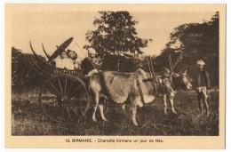 CPA - Mandaley (Birmanie) - Charette Birmane Un Jour De Fête - Myanmar (Burma)