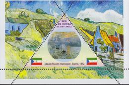 Impressionists Childe Hassam   1  Sheet   TRIANGULAR STAMP LIMITED EDITION Mint   CINDERELLA - Impressionisme