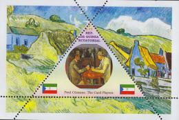 Impressionists Paul Cézanne  1  Sheet   TRIANGULAR STAMP LIMITED EDITION Mint   CINDERELLA - Impressionisme