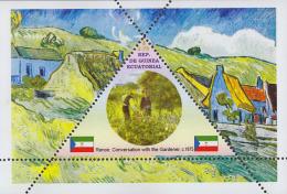 Impressionists Renoir  1  Sheet   TRIANGULAR STAMP LIMITED EDITION Mint   CINDERELLA - Impressionisme