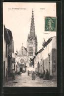 CPA Podensac, L'Église - Francia