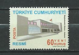Turkey 2005 Building.house.MNH - 1921-... Republic