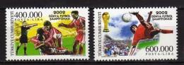 Turkey 2002 Football World Cup - Japan And South Korea.MNH - 1921-... Republic