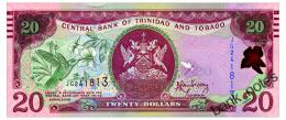 TRINIDAD & TOBAGO 20 DOLLARS 2006(2009) Pick 49b Unc - Trinidad & Tobago