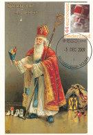D26818 CARTE MAXIMUM CARD 2009 NETHERLANDS - ST. NIKOLAUS SINTERKLAAS SAINT NICOLAS CP ORIGINAL - Verhalen, Fabels En Legenden