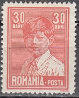 ROMANIA    SCOTT NO.  321    MINT HINGED     YEAR  1928 - 1918-1948 Ferdinand, Charles II & Michael