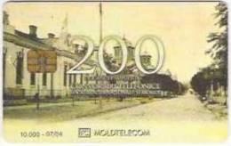= MOLDOVA - 200 U - ISSUED - 07 - 04 - TIRAGE - 10 000  = 15