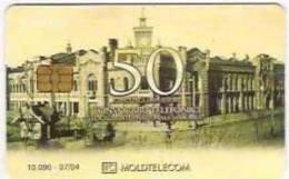 = MOLDOVA - 50 U - ISSUED - 07 - 04 - TIRAGE - 10 090  = 10