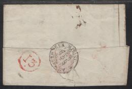 Paris, Cachet Ministere De La Marine  Au Verso - An 12 - 1801-1848: Precursors XIX