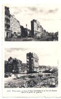 BOULOGNE SUR MER - 62 - CPSM - Le Port (2 Vues Avant Et Après La Guerre) TTB - Calais