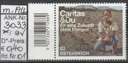 """2.7.2012 - SM """"Caritas & Du"""" - O Gestempelt Mit Allonge Links  -  Siehe Scan  (3033o 01-02) - 1945-.... 2ème République"""
